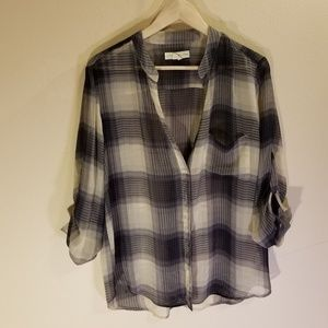URBAN OUTFITTERS full button down blouse